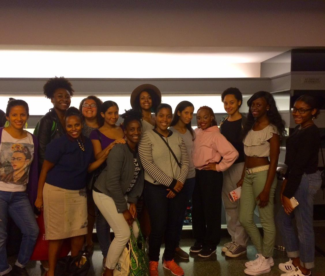 BHSS staff & members went to #JoyceTheater to witness @CamilleABrown & Dancers perform BLACK GIRL: Linguistic Play http://t.co/p06sxdvope