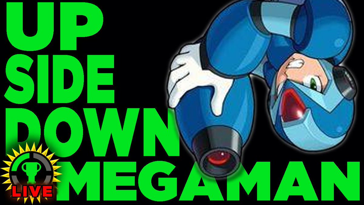 Matpat On Twitter Submit Your Sabotages Today At 4 00 On Gtlive I Start Mega Man X Upside Down But What Happens Next Is Your Call Http T Co Fkga3mhzga