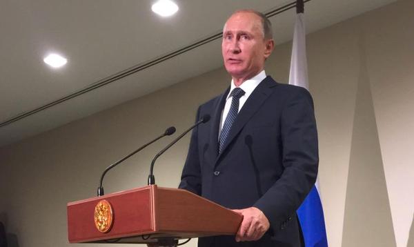 Свой среди чужих, чужой среди своих. ФОТОжаберы о выступлении Путина на Генассамбее ООН - Цензор.НЕТ 2309