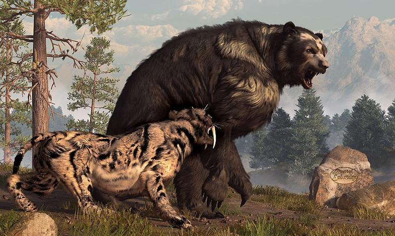 giant animals north america - 1280×720