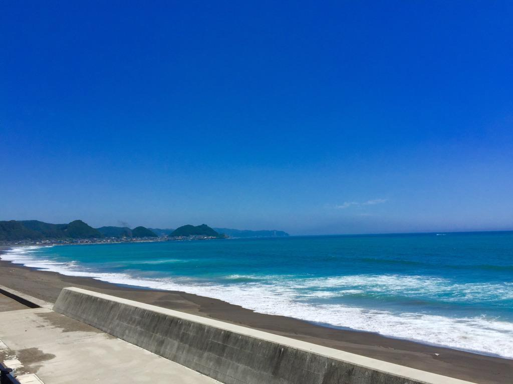 Kujukuri beach in Chiba http://t.co/M2PBVdlYmp