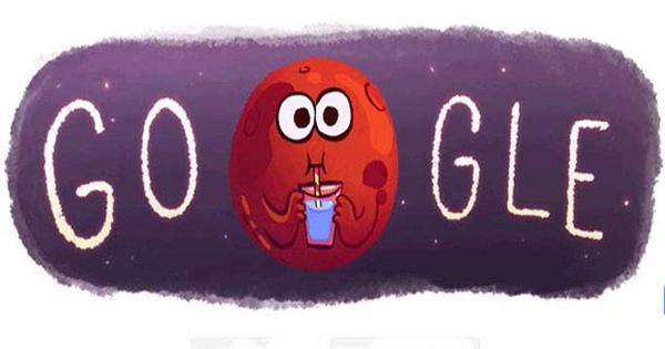 Scoperta Acqua su Marte Doodle Google.