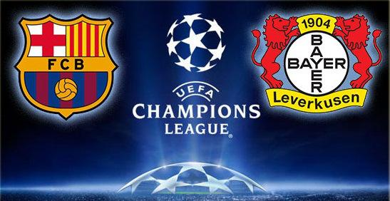 Come vedere Barcellona-Bayer Leverkusen Streaming Champions League