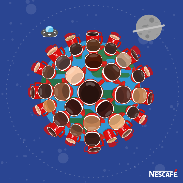 With 5,500 cups of NESCAFÉ drunk per second, every day is like #InternationalCoffeeDay http://t.co/wdrkhTEmiZ