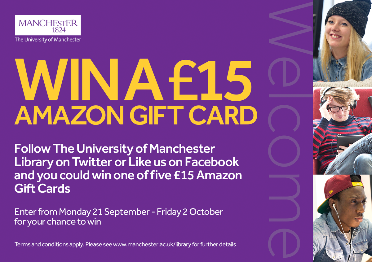 Follow us today for your chance to win a £15 Amazon gift voucher http://t.co/mqtSK8eznp http://t.co/rFmw1RPU11