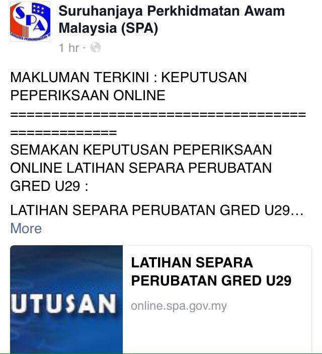 Spa Malaysia On Twitter Semakan Keputusan Peperiksaan Online Latihan Separa Perubatan Layari Laman Web Spa Di Http T Co W5vhbgornx Http T Co D9ne2amfma