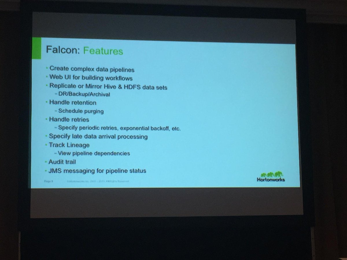 Apache Falcon features