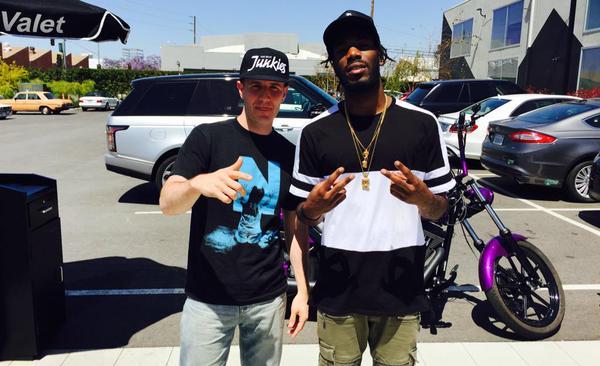Proud to hear my friend @Dougiefmusic on @Beats1. @DJBonics told me he was next! http://t.co/YA40r1gfDH