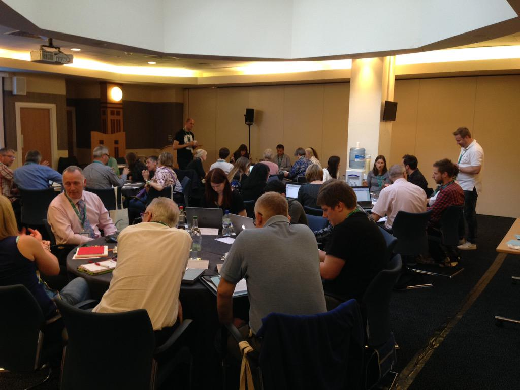 Great discussions happening in our #GTD workshop at #tcuk15, don't you think, @jk1440? #techcomm http://t.co/ACbUx4RcVx