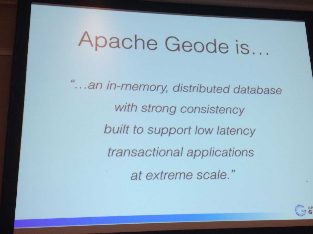 What is Apache Geode?