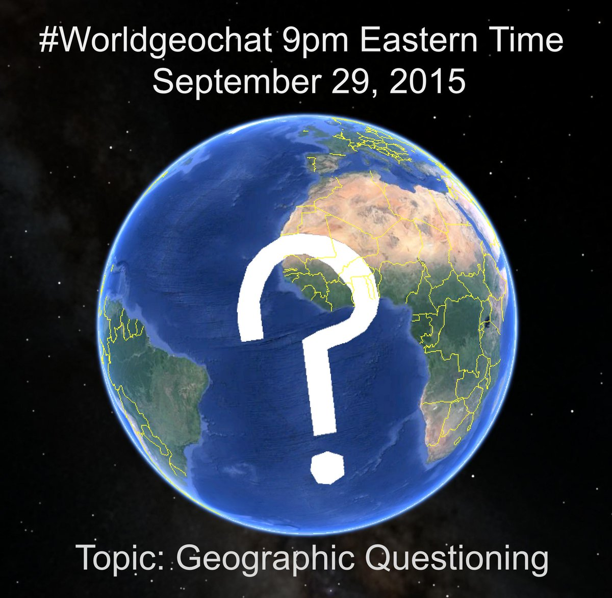 Thumbnail for #worldgeochat Questioning