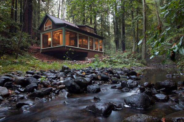 Restored 1920s Cabin in California ..