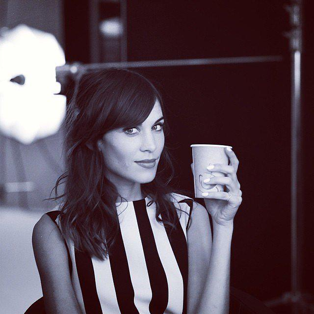 We can't live without it. Happy #NationalCoffeeDay! ☕️ ☕️  @alexa_chung http://t.co/kJWesZH05L