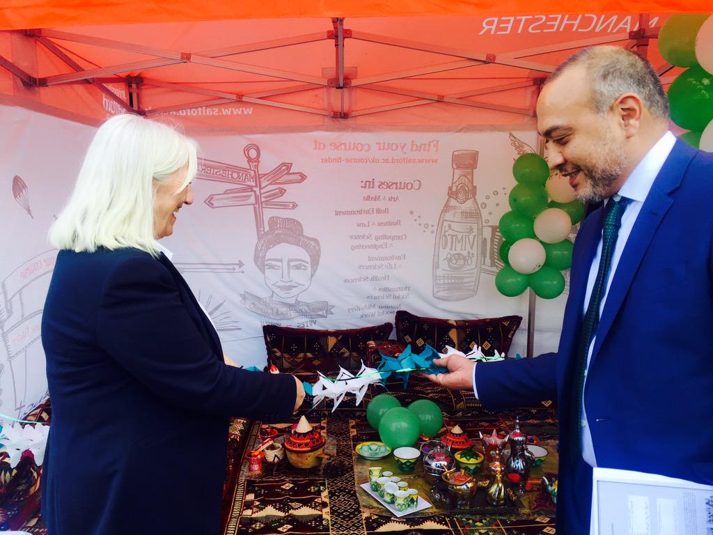 Special thanks 2 Basim Muhandis @SaudiEmbassyUK who attended #SalSaudiDay &opened celeb w @GillColgan @careatsalford http://t.co/CL4tLyBlff