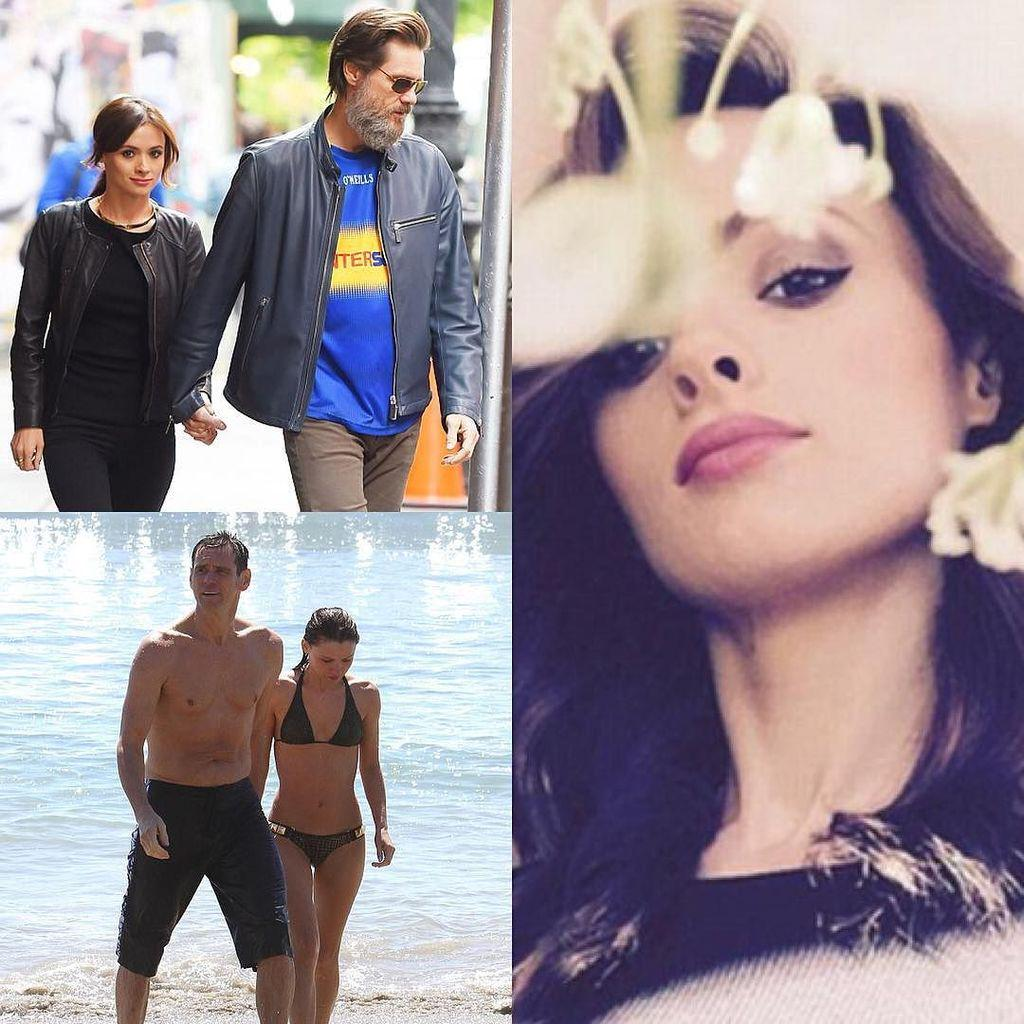 Una raccolta di foto di Jim Carrey con l'ex fidanzata Cathriona White trovata morta.