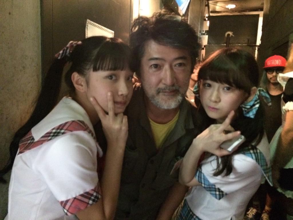 シャバクラ!デラックス@渋谷WWW 終わりました!バタバタであっとゆう間でしたが、楽しかったです。ありがとうございました!会田さんとladybabyのふたり! http://t.co/6nhxNeMxDN