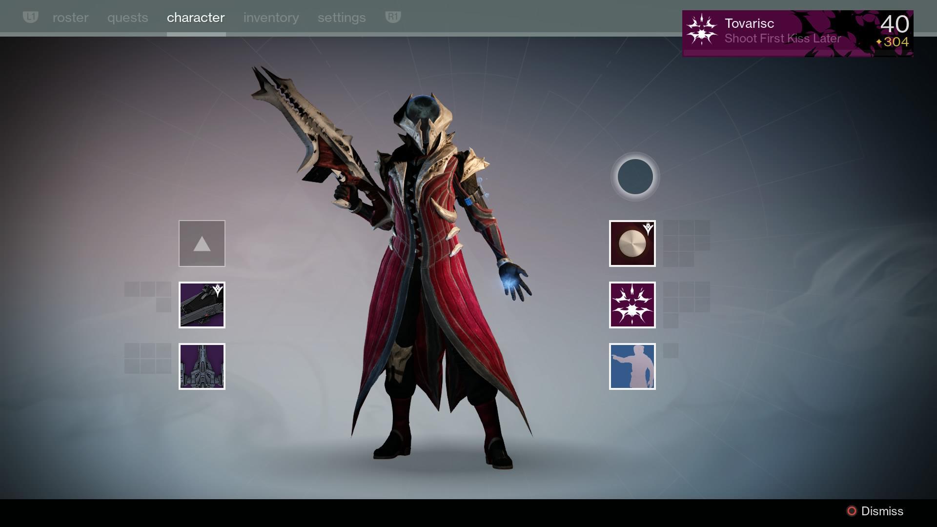 destiny kings fall gear
