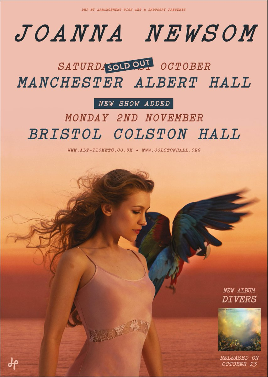 Joanna Newsom Shows Colston Hall