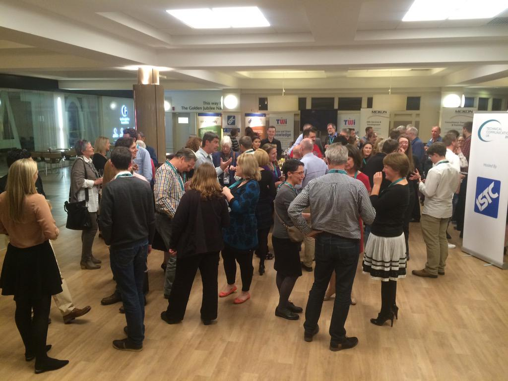 #tcuk15 drinks reception in full swing. http://t.co/056i5vrgFV