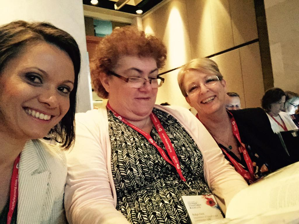 We are at the #acelconf15 @NSWEducation #courage #commitment #lead http://t.co/55tePYe6Sx