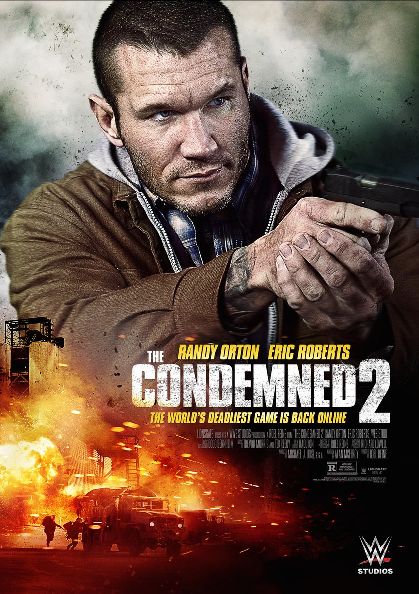 #TheCondemned2 stars @RandyOrton, @EricRoberts & @StevenMQuezada...available On Demand Nov 6. http://t.co/ZKDJLMI6L7