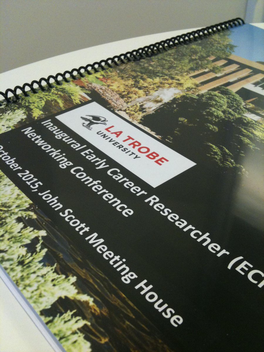 Perk of being part of #REDteam that's assisting w/conf organising is getting the booklet early... #sneakpeek #LTUecr http://t.co/qaDMgAK4pm