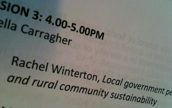 @RachelWinterton Well, there seems to be some big names in it...looking good. ;) #LTUecr http://t.co/mVlXW1SN4T