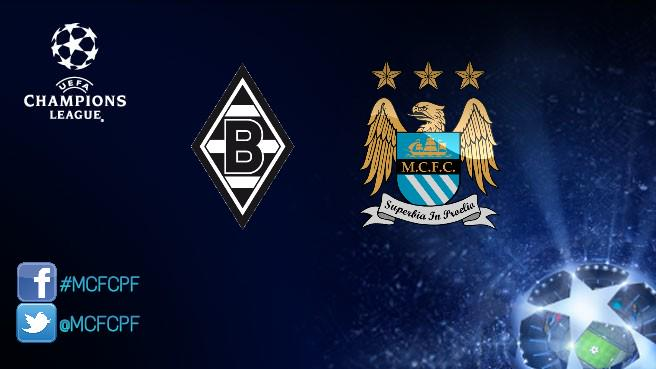 Borussia Monchengladbach-MANCHESTER CITY info Streaming Gratis Champions League
