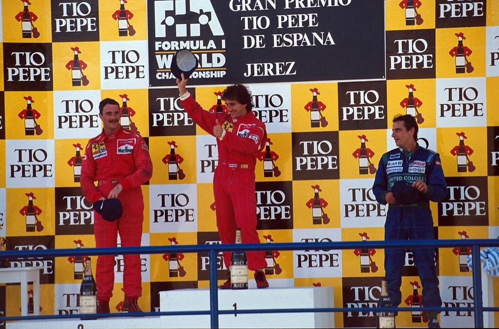 Image result for 1990 Spanish grand prix