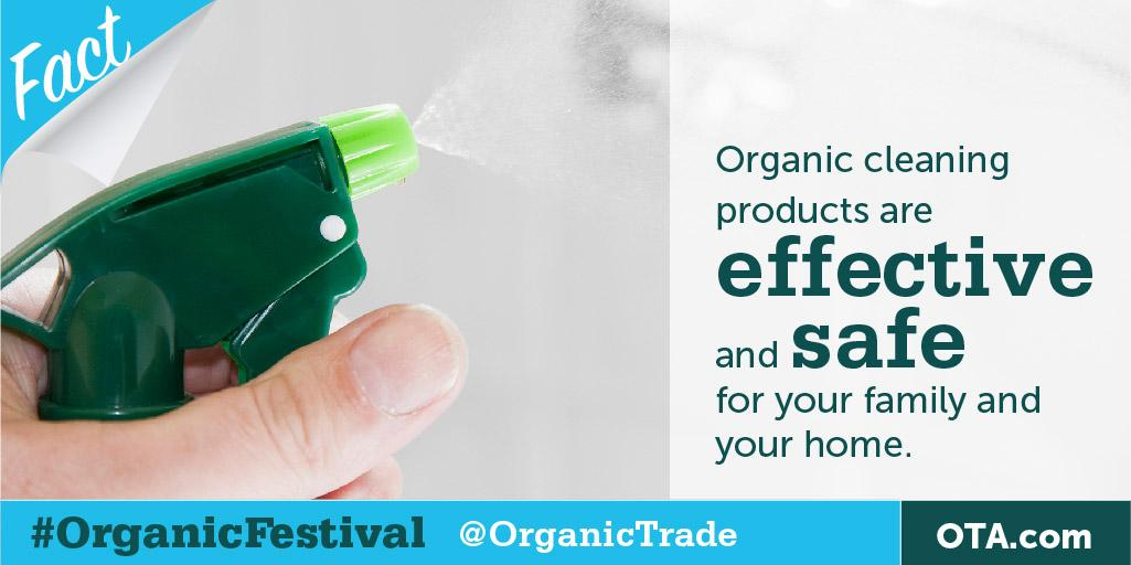 DYK that #organic cleaning products are safe & effective for your family & home? RT the fact to win fom @GSOrganic http://t.co/JkEckkJn9V