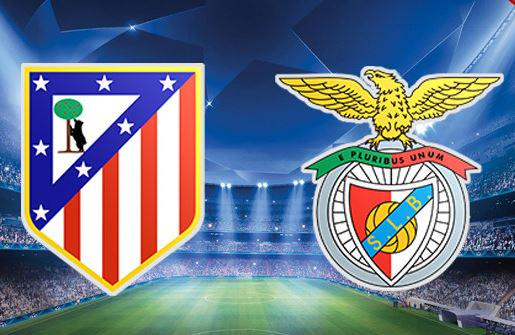 Atletico Madrid-Benfica Rojadirecta Streaming Gratis Champions League