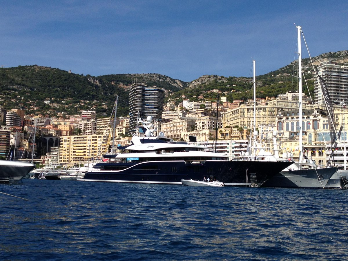 Princessyachtcharter On Twitter Yacht Solandge Spotted In Monaco