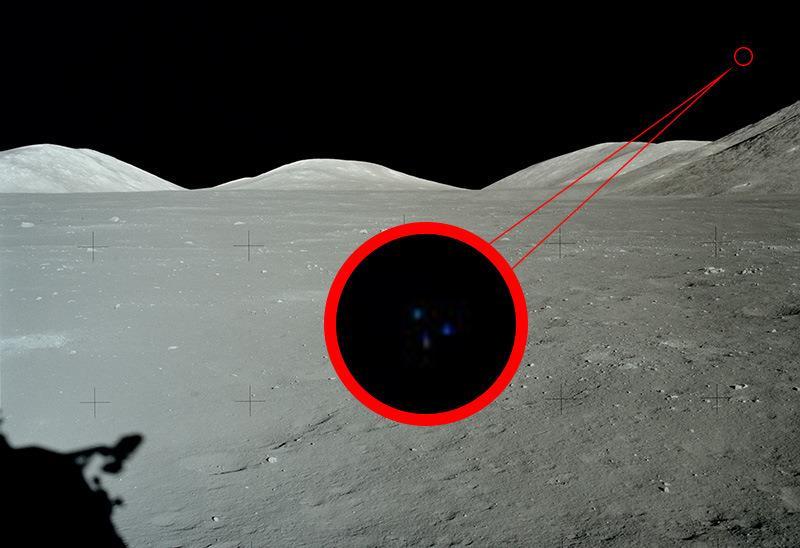 L'UFO della Missione Apollo 17, immagini che fanno discutere