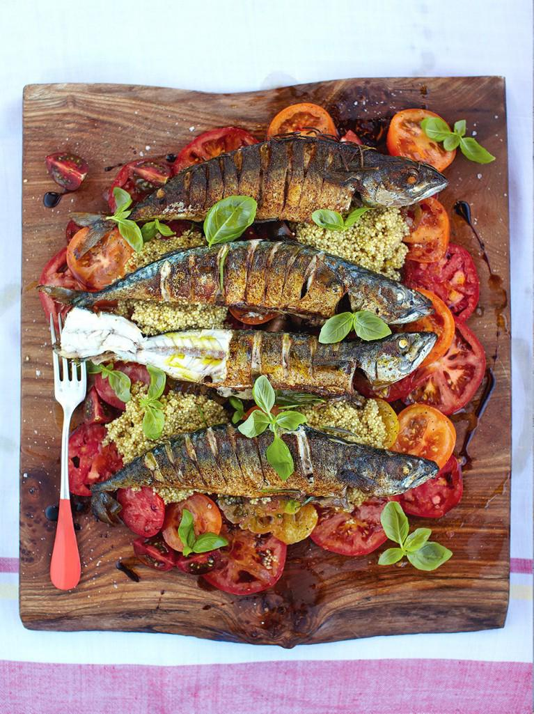 Jamie Oliver On Twitter Recipeoftheday Mighty Mackerel With Tomato Quinoa Salad Super Quick Nutritious Http T Co Mtfc7k8nfv Http T Co Sw0er7ym5x