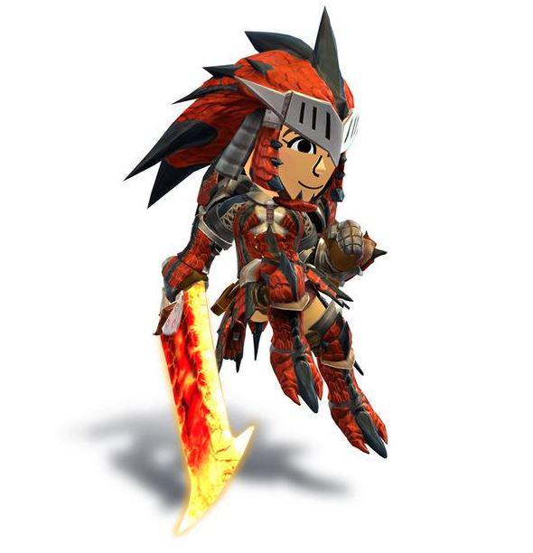 Monster Hunter On Twitter Super Smash Bros Mii Sword Fighters
