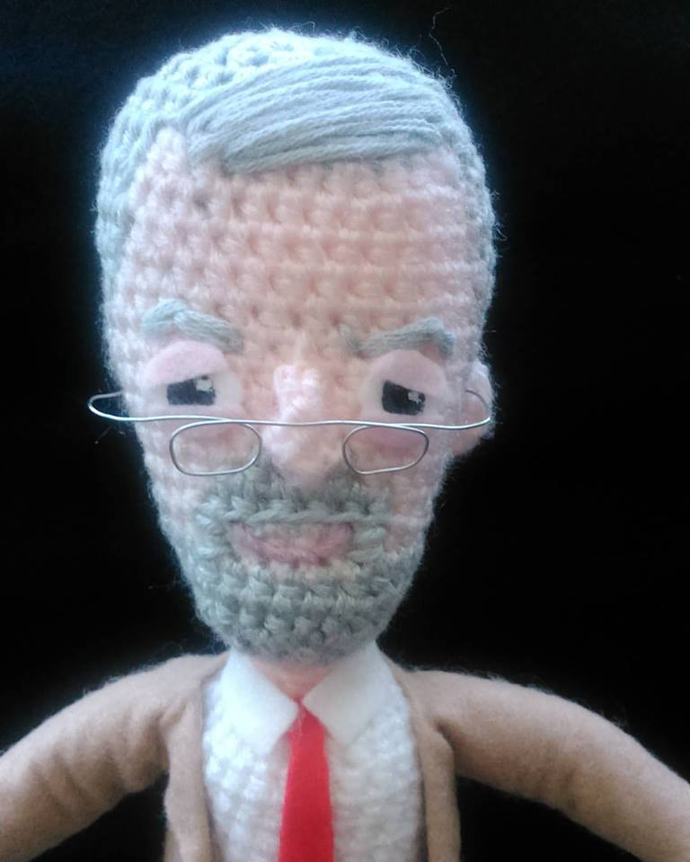 #Corbyn #Lab15 crochetted by a friend, so want one, soon to be available on #etsy https://t.co/Qe1DdpVyLD http://t.co/Zs53PJdfsA