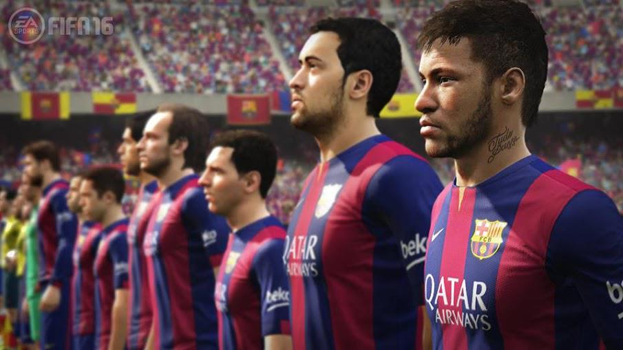 #FIFA16 GIVEAWAY!  2 winners will receive a copy of the new FIFA 16. Follow and RT to enter. Winner announced Friday! http://t.co/k2VZsIxaJ5