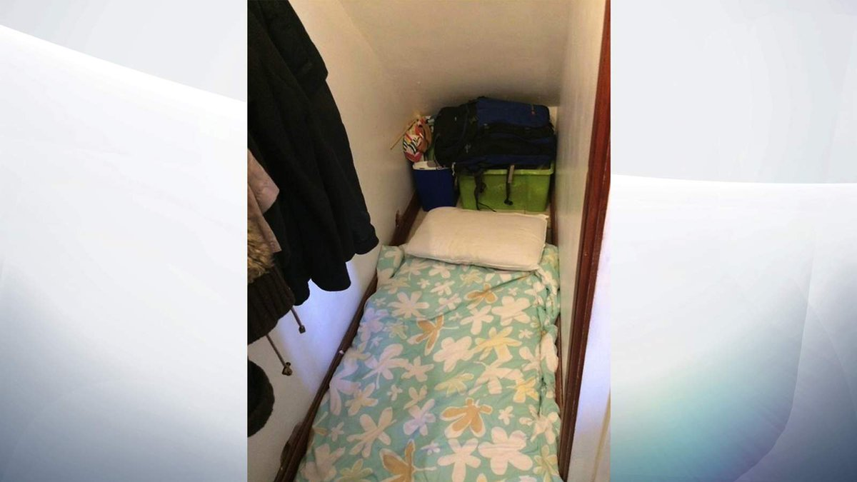 'Cupboard under stairs' rents for £500 per month in London…
