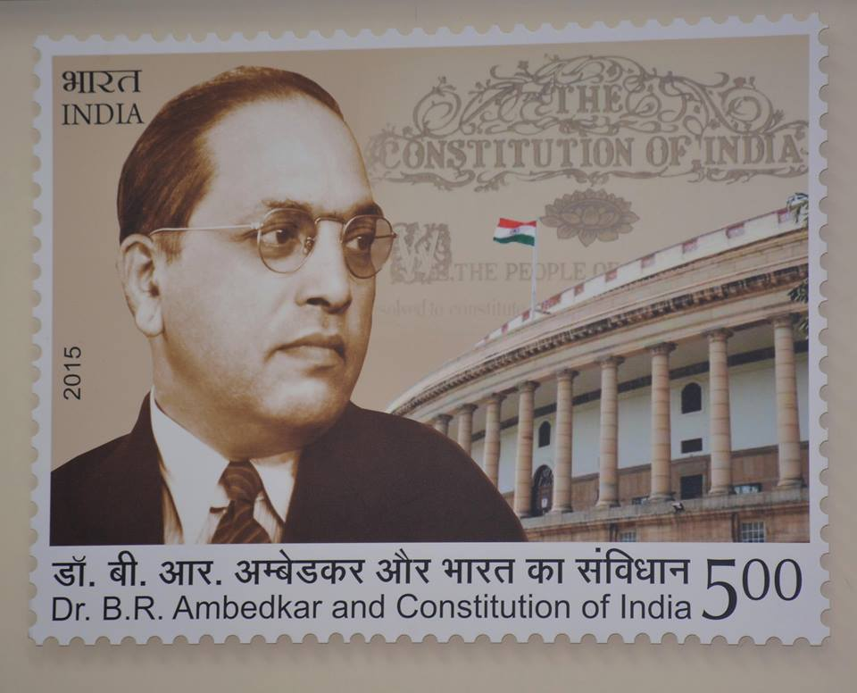 contribution of dr b r ambedkar in making the constitution of india