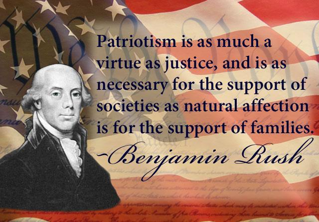 What does Patriotism mean to you?