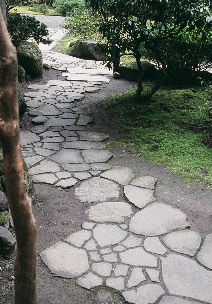 landscaping rocks you can walk on great garden paths