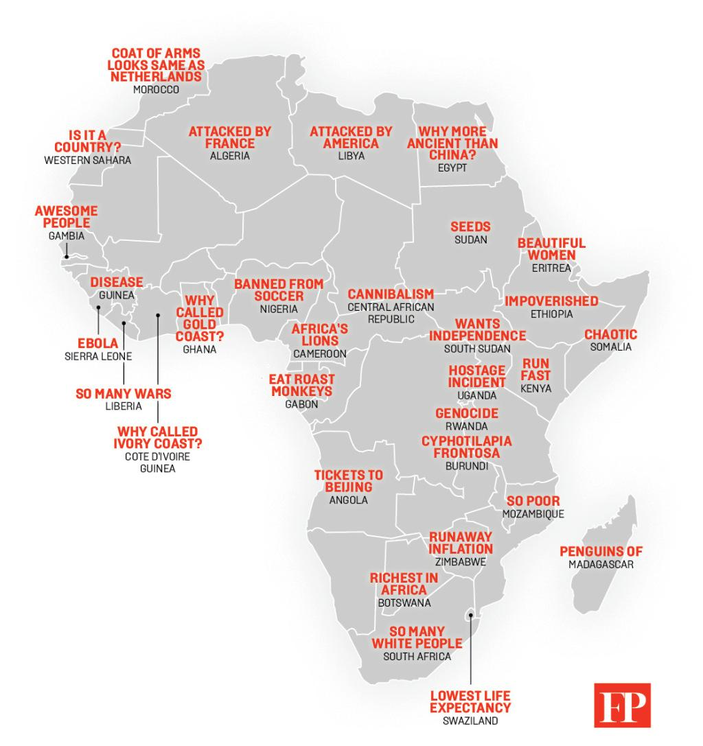 Map Chinas Stereotypes Of Africa From Chaotic Somalia To Oxygen Sensor Circuit Http Wwwsamarinscom Glossary Oxygensensor Embedded Image Permalink