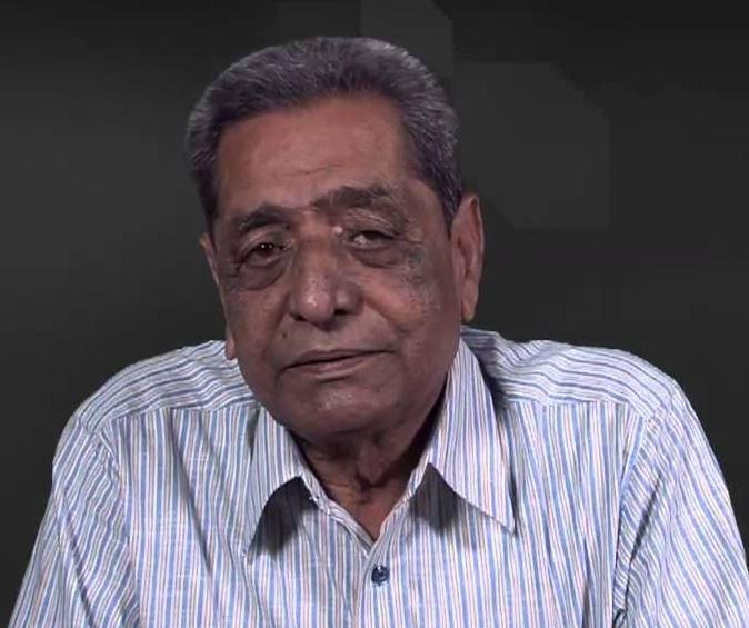 Renown Gujarati poet Khalil Dhantejvi passes away