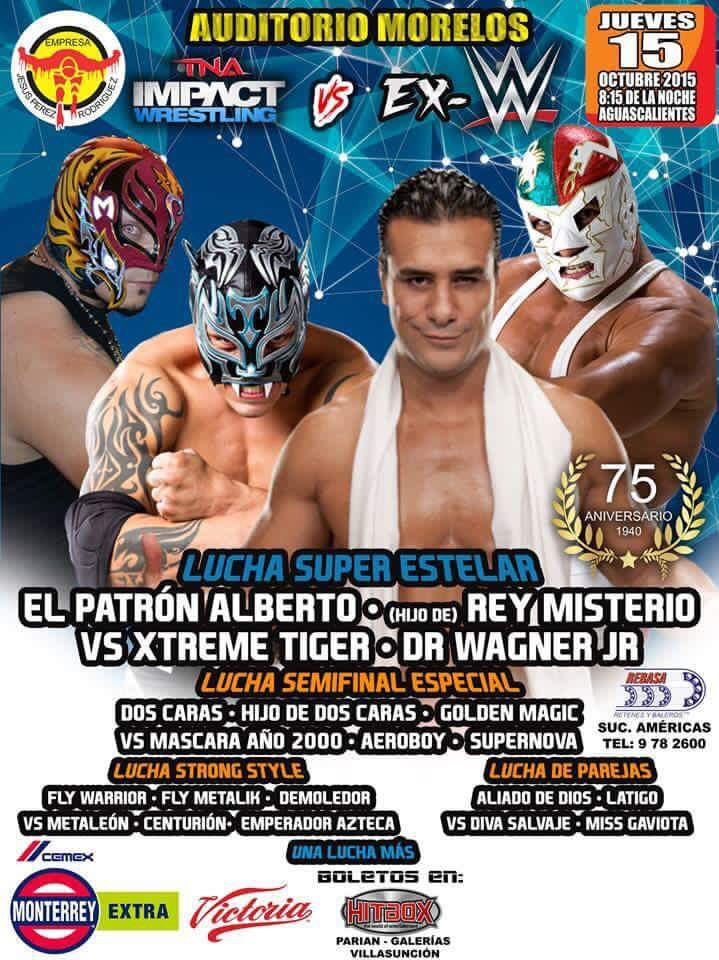 Dr Wagner Jr Announced For IMPACT In Mexico TV Tapings