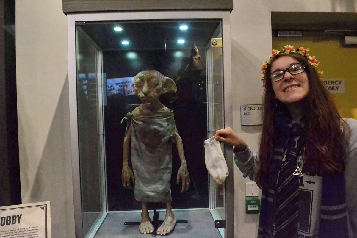 """Harry Potter"" Fans Are Trying To Set Dobby Free By Leaving Their Socks For Him"