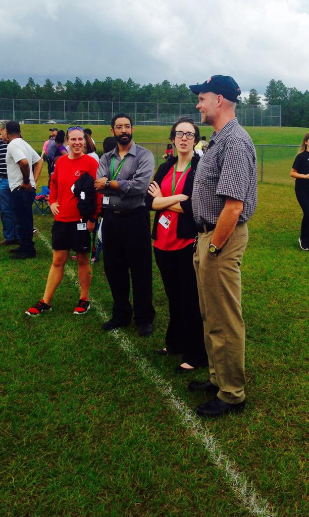 Great teacher support at game today! We love our teachers @mcssms http://t.co/xYlD3LOrdm