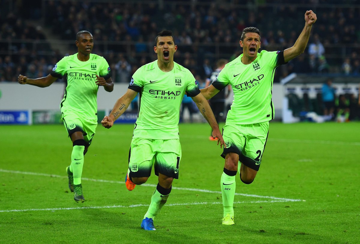 Video: Borussia M gladbach vs Manchester City