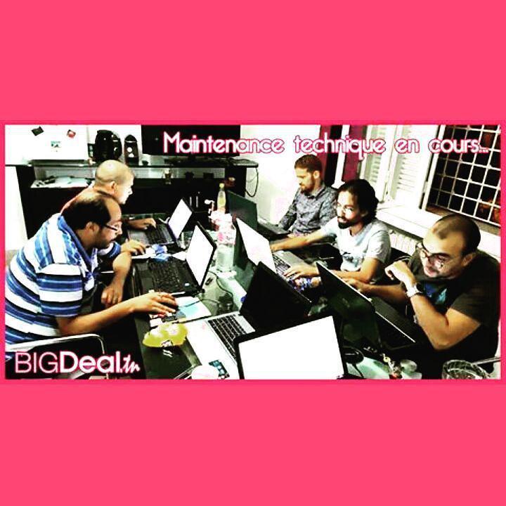 #Bigdeal #te5dem #tlawej_3la_site :p http://t.co/PoRm3WryIE