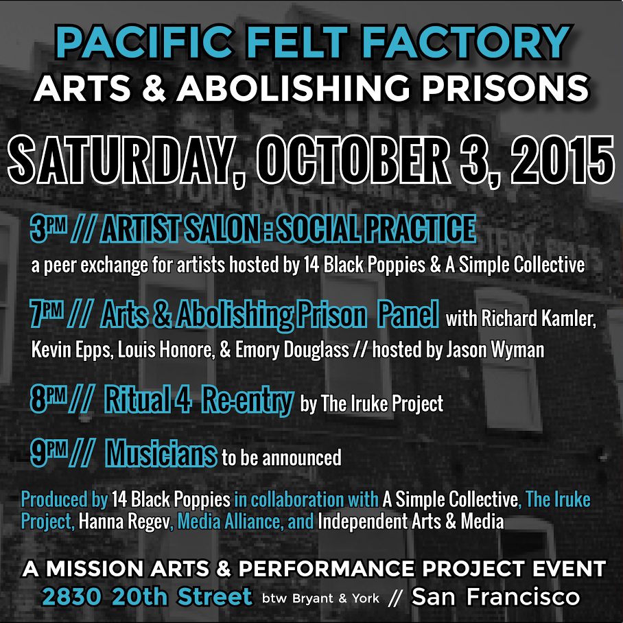 Arts & Abolishing Prisons @ San Francisco | California | United States