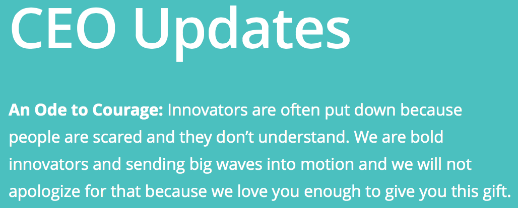 "Omg y'all the ""CEO Update"" on Peeple's site is too much. YOU JUST DON'T UNDERSTAND. http://t.co/tdcj2IuCLX"
